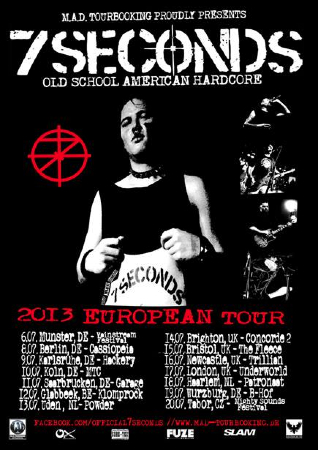 7 Seconds : European Tour