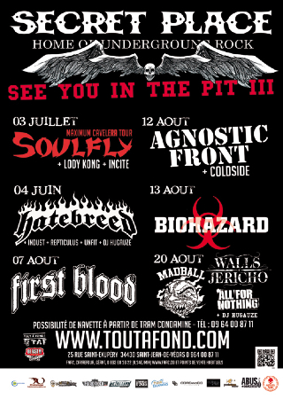See You In The Pit #3 : Secret Place, Montpellier