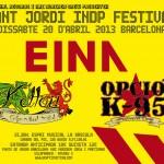 Sant Jordi INDP Festival, Barcelona, 20/04/2013