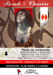 flyer reina 210x300 Berok y Chacón : Dos Rombos (Two Diamonds)