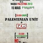 Concert en Commemoració de la Naqba Palestina, Barcelona, 15/05/2013