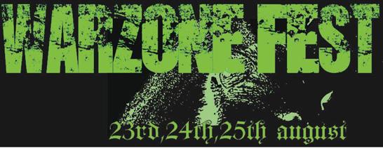 Aug 23 : Warzone Festival, Belfast
