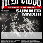 First Blood : Silence Is Betrayal - European Summer Tour 2013