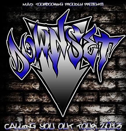 Downset - European Tour 2013