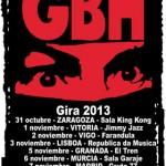 G.B.H. : Gira 2013