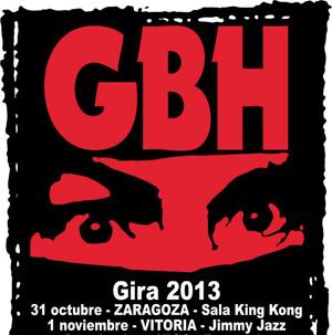 GBH : Gira 2013