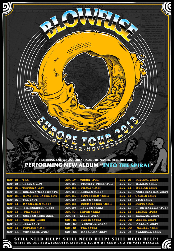 Blowfuse - Europe Tour 2013