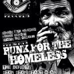 Punk For The Homeless : Voodoo Belfast, 17/11/2013