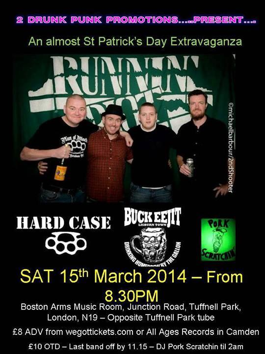 Mar 15 - Runnin Riot - London