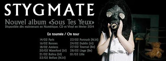 Stygmate - Tour