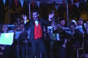 Lambeth Wind Orchestra : Vauxhall Pleasure Gardens, London, 12/07/2014
