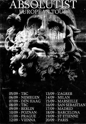 Absolutist - Tour Dates 2014