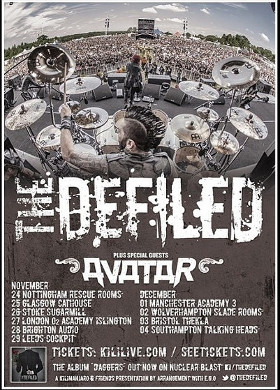 Defiled - Tour 2014