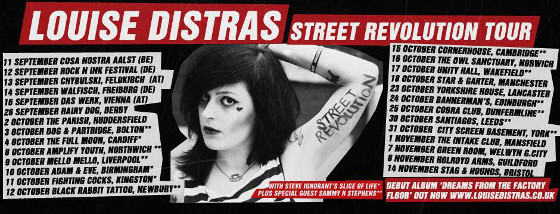Louise Distras - Street Revolution Tour