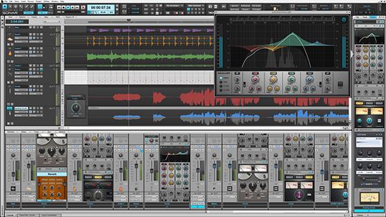 SONAR Platinum Track View