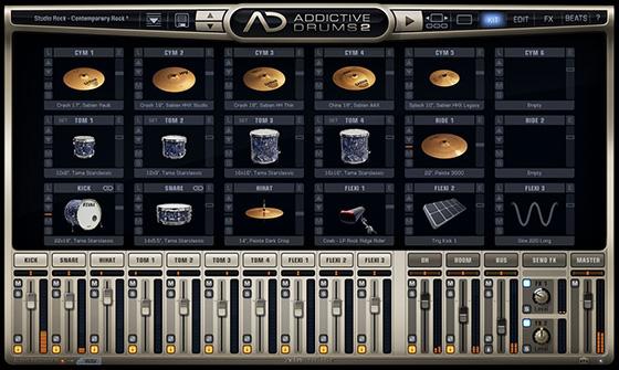 SONAR Addictive Drums 2