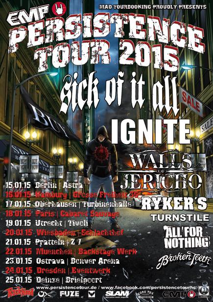EMP Persistence Tour 2015