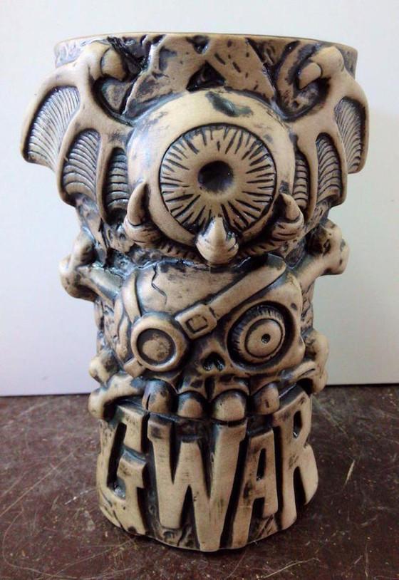 GWAR Tiki mug