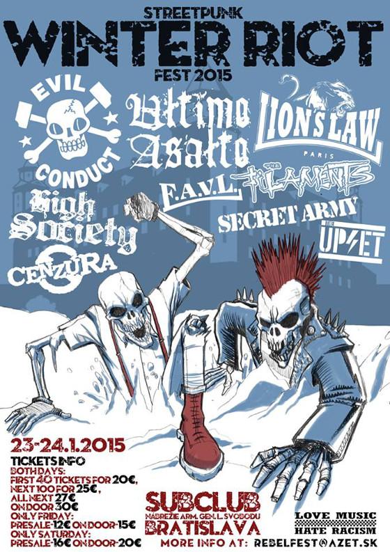 Jan 23-24 - Streetpunk Winter Riot