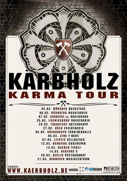 Kärbholz - Karma Tour 2015