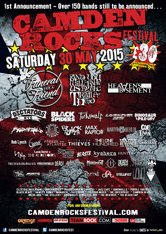 May 30 - Camden Rocks Festival
