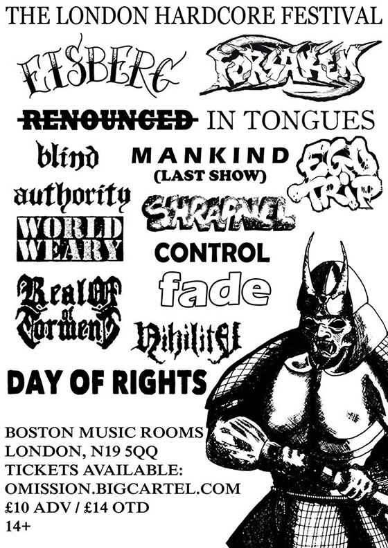 Jul 12 - London Hardcore Festival