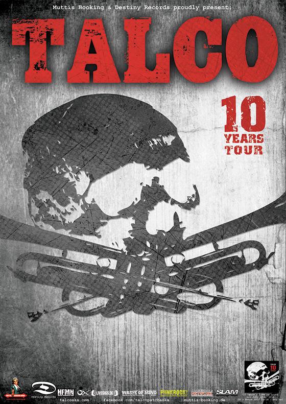 Talco - 10 Years Tour