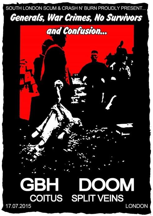 GBH + Doom + Coitus + Split Veins