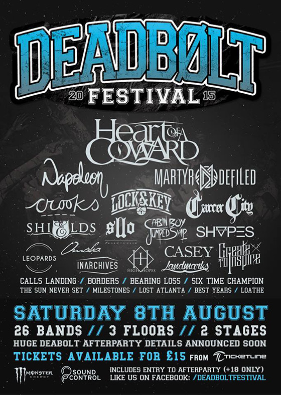 Aug 08 - Deadbolt Festival