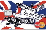 Punk rock brand: Sex Pistols to feature on credit card range