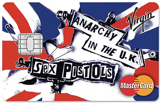 Sex Pistols credit card