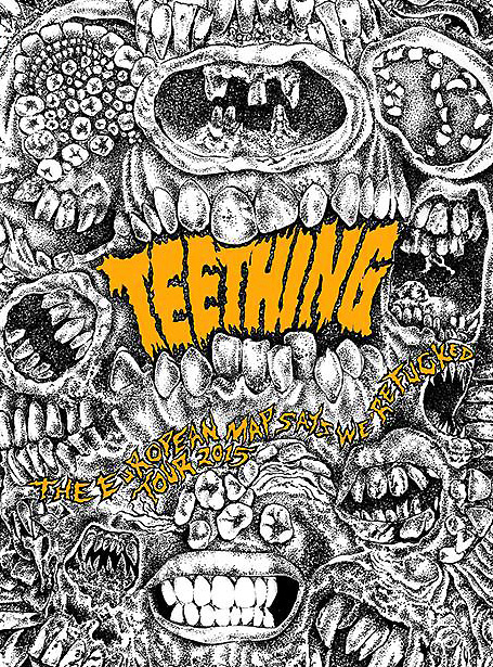 Teething - European Summer Tour 2015