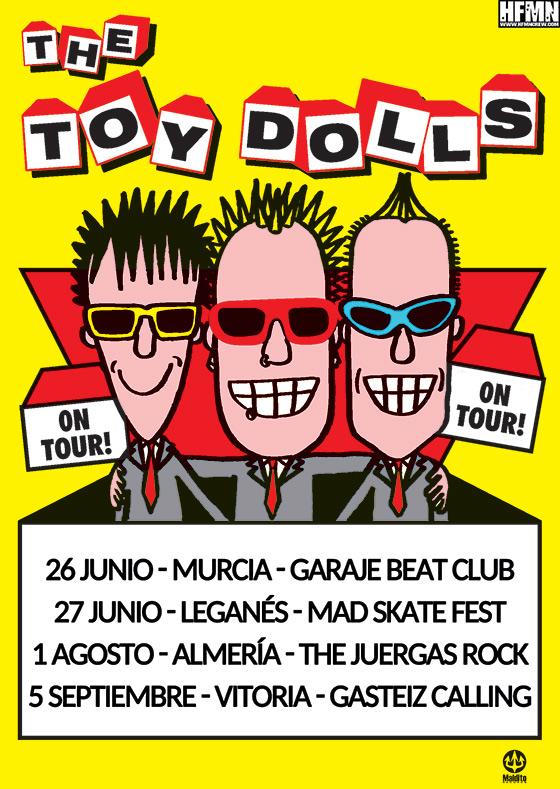 Toy Dolls - Gira 2015 - HFMN