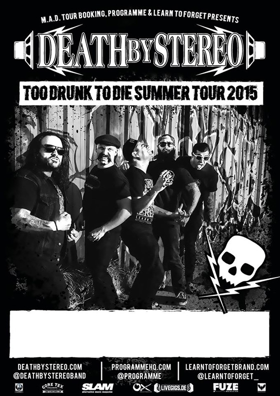 Death By Stereo - Summer Tour 2015