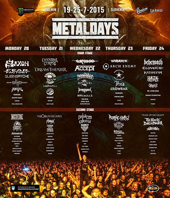 Jul 19-25 - Metal Days Festival