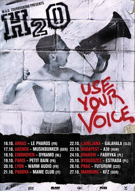 H2O - Use Your Voice Tour 2015