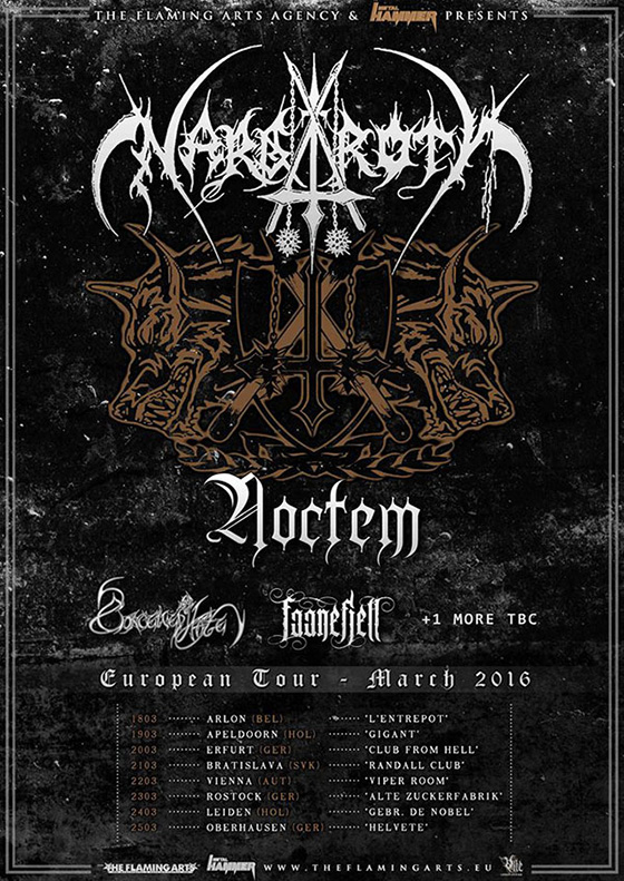 Noctem Nargaroth Tour 2016