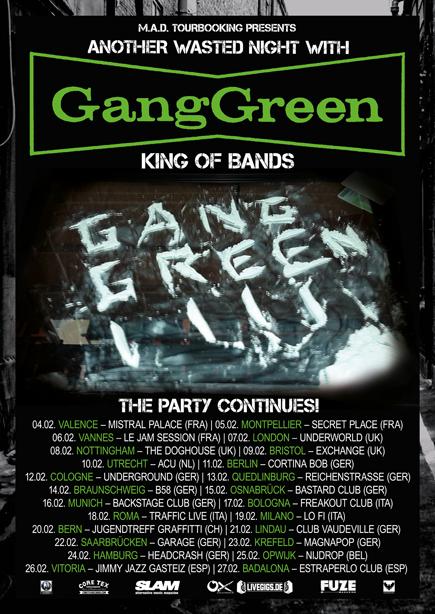 Gang Green - 2016 European Tour