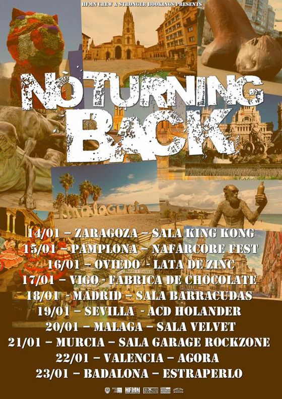 No Turning Back - Gira 2016