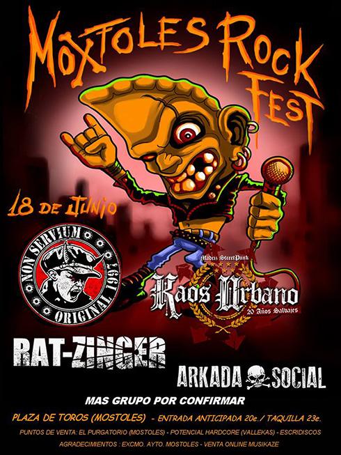 Jun 18 - Moxtoles Rock Fest